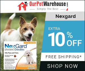 Every beef-flavored NexGard chew provide a month's worth of protection from Flea & Tick. Get Extra Discount & Free Shipping Today.