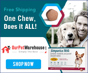 Simparica TRIO: One chew, Once-A-Month, Does it ALL! Extra 12% Off + Free Shipping
