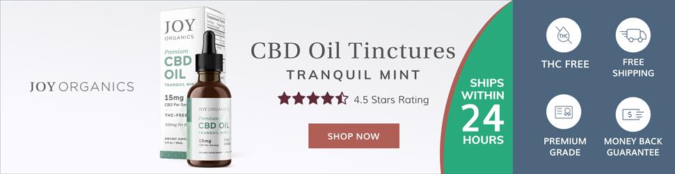 Premimum THC Free CBD Tinctures