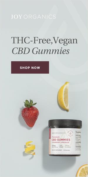 THC-Free Vegan CBD Gummies