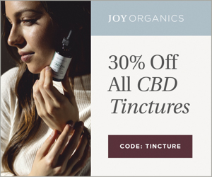 30% off ALL Joy Organics tinctures