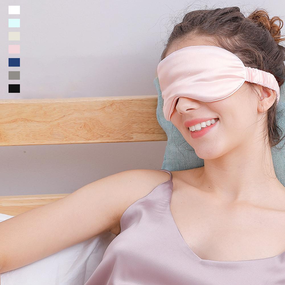 25 Momme Mulberry Silk Eye Mask Sleep Mask Blindfold Was: $29.99 Now: $19.99.