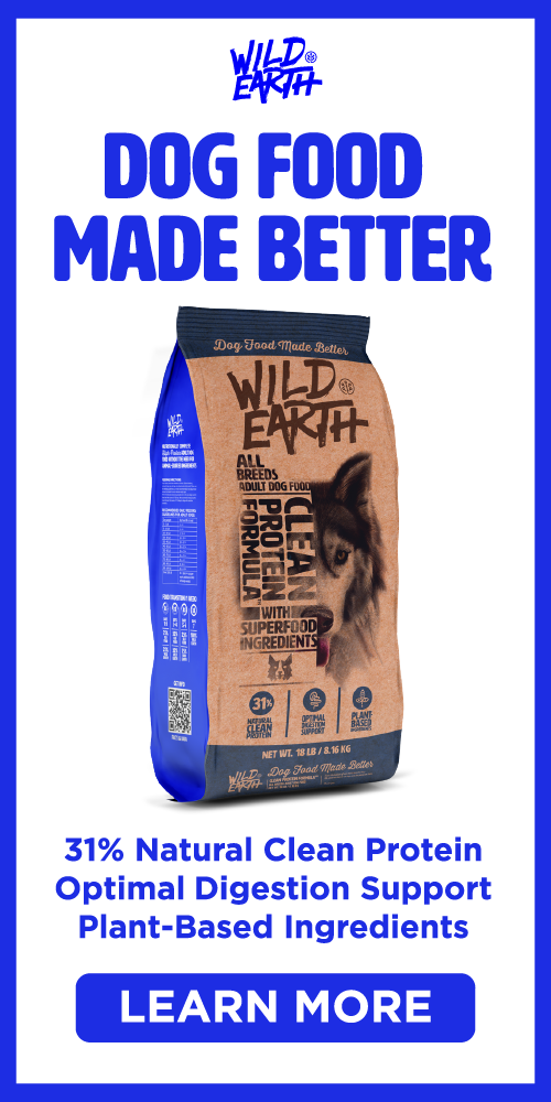 Wild Earth Natural Dog Food