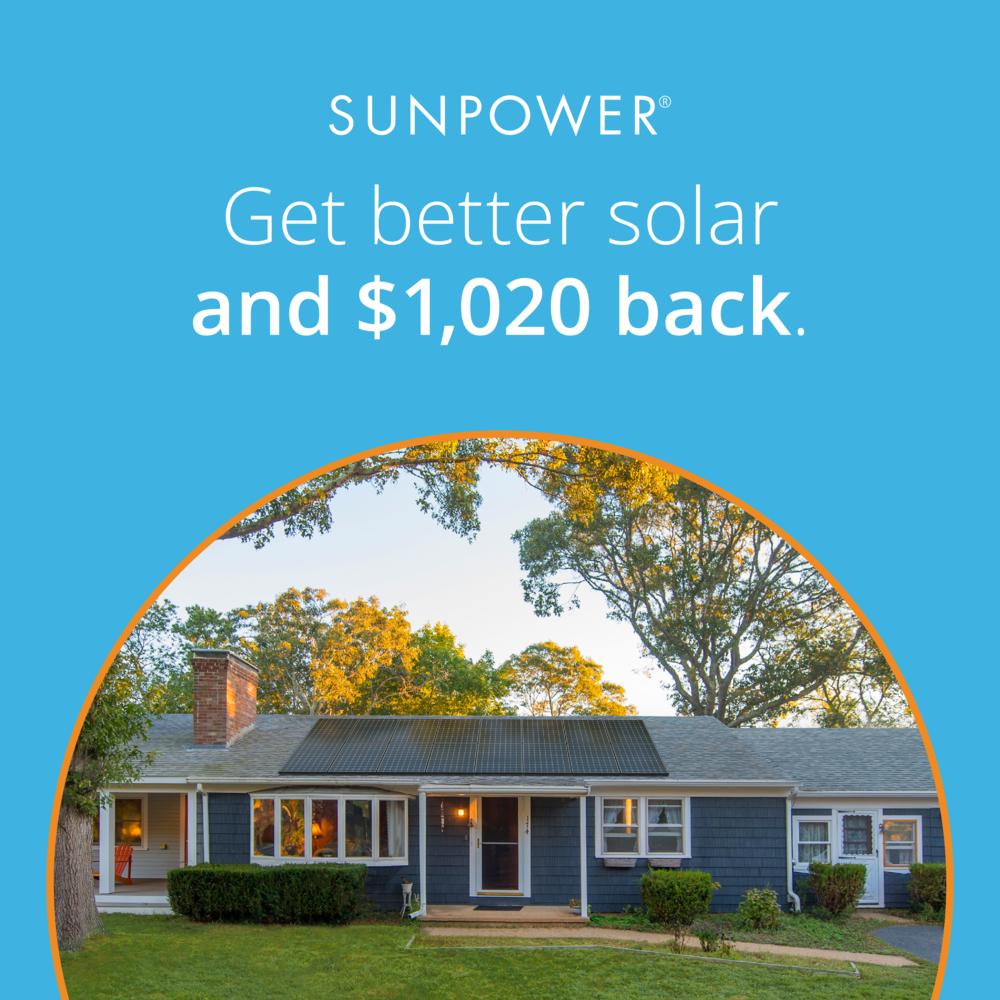 sunpower.com - 2020 Year End Rebate