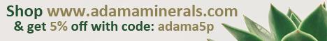 Adama Minerals 5%off Cactus 468x60