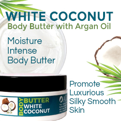 White Coconut Body Butter