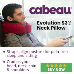 Cradles your head, neck, chin & shoulders