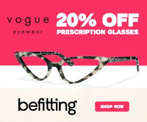 Millie Bobby Brown + Vogue 20% Off Glasses