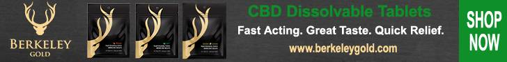Berkeley Gold dissolvable CBD tablets are formulated to deliver CBD in a fast, effective way!