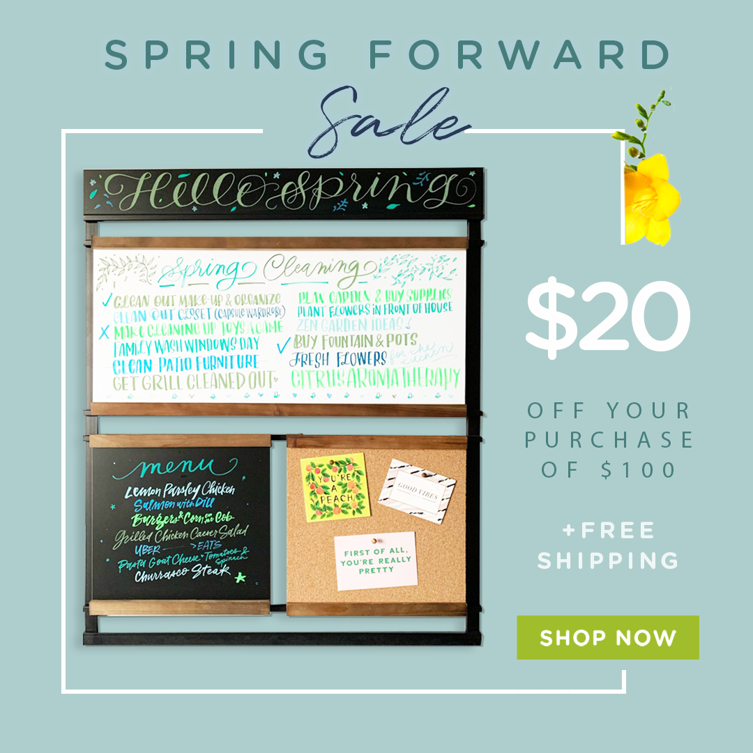 Save $20 off + free shipping on your purchase of $100. Shop Now! Valid from March 9th to March 24th at 9AM EST.