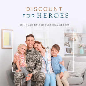 To show our appreciation, 1THRIVE is proud to offer an exclusive 10% discount on select 1THRIVE.com purchases to military, veterans, first responders, students, and teachers.  We want to thank you for your service and the sacrifices you make every day.