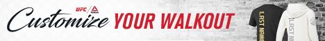 UFC - Personalized Walkout Jerseys