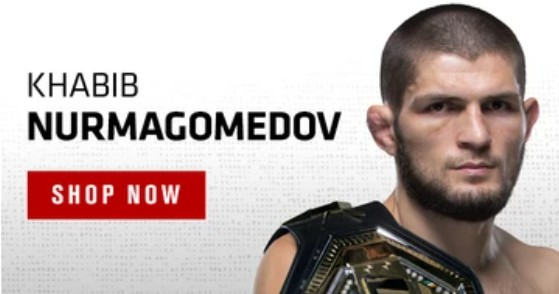SHOP - Khabib NURMAGOMEDOV Apparel & Gear