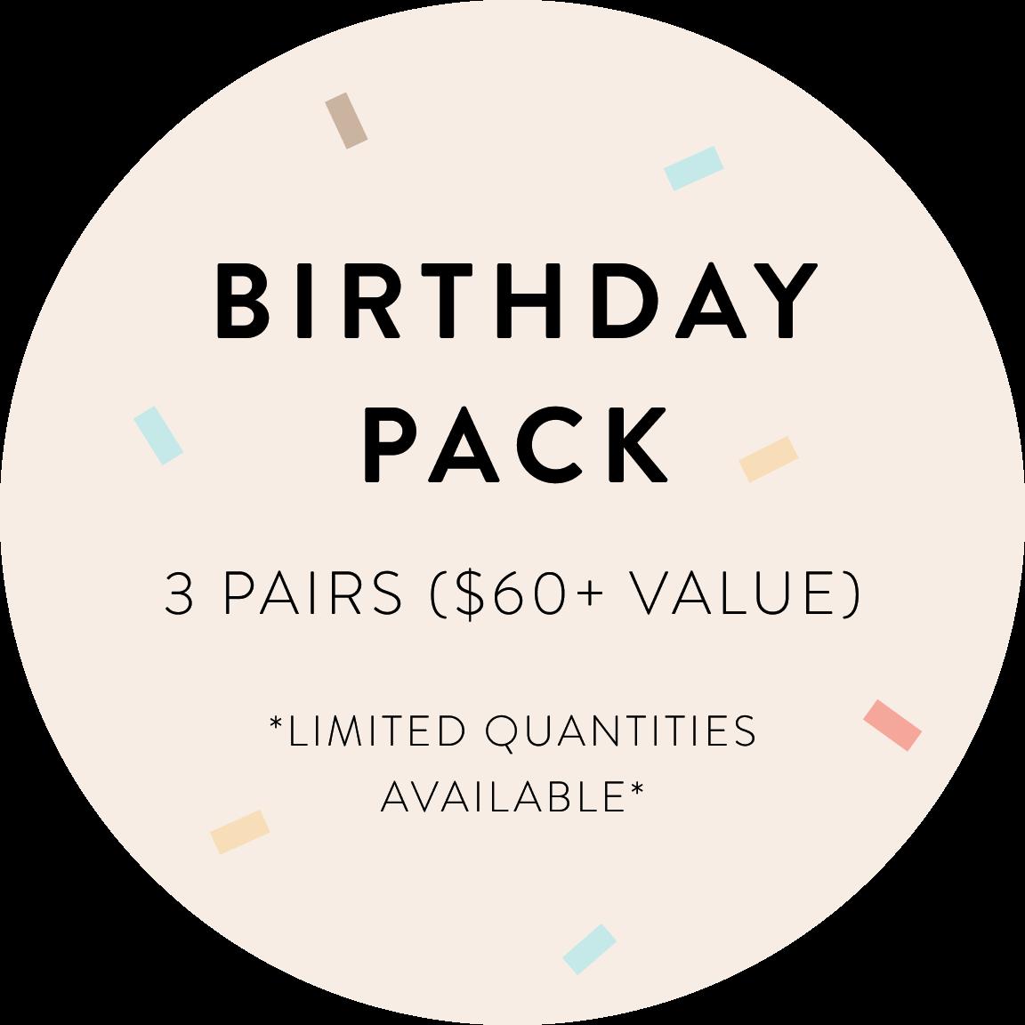 Birthday Gift 3-Pack