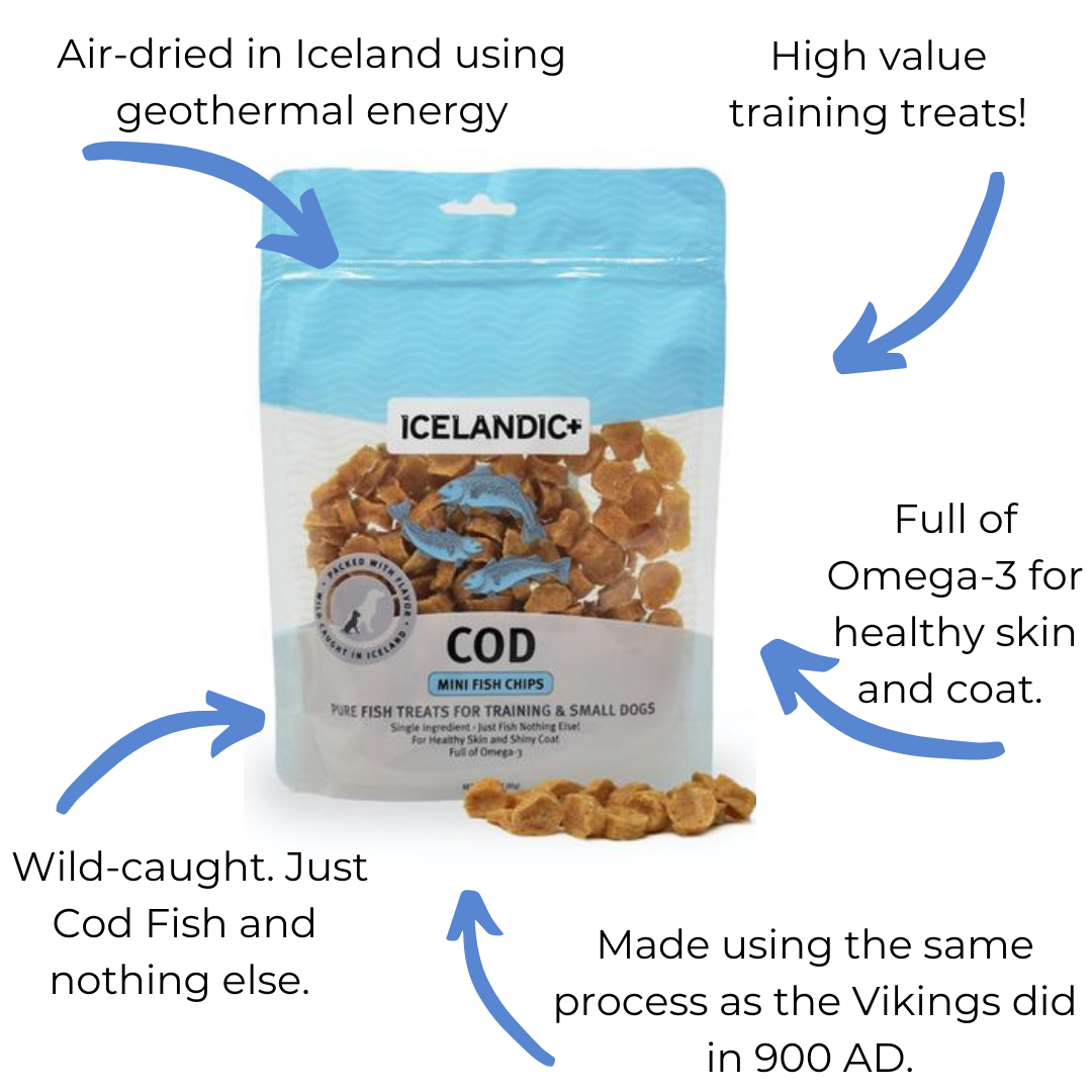 Icelandic+ Mini Cod Chips