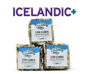 Icelandic+ Dog Treats. Not just pure, Icelandic pure.