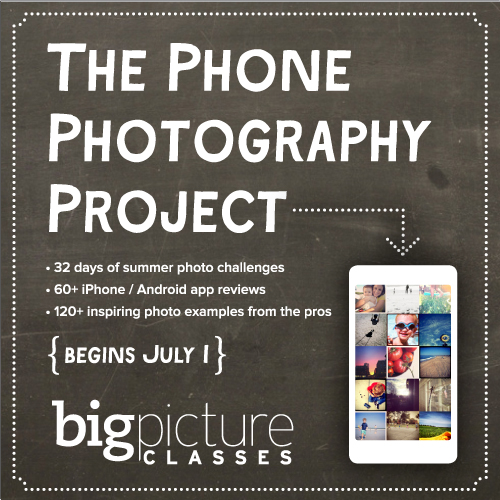 Phone Photography Project | Big Picture Classes