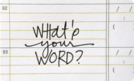 What's your WORD? Learn more about this online workshop with Ali Edwards