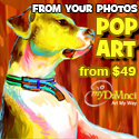 pop art from photos at myDaVinci.com