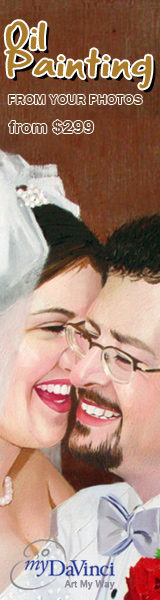 oil painting from photos at myDaVinci.com