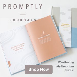 Shop our New Weathering My Emotions Journal at Promptly Journals