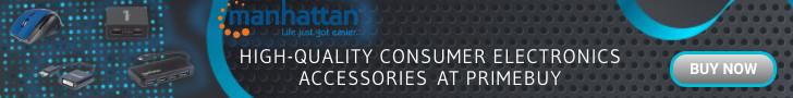 Manhattan - high-quality consumer electronics accessories