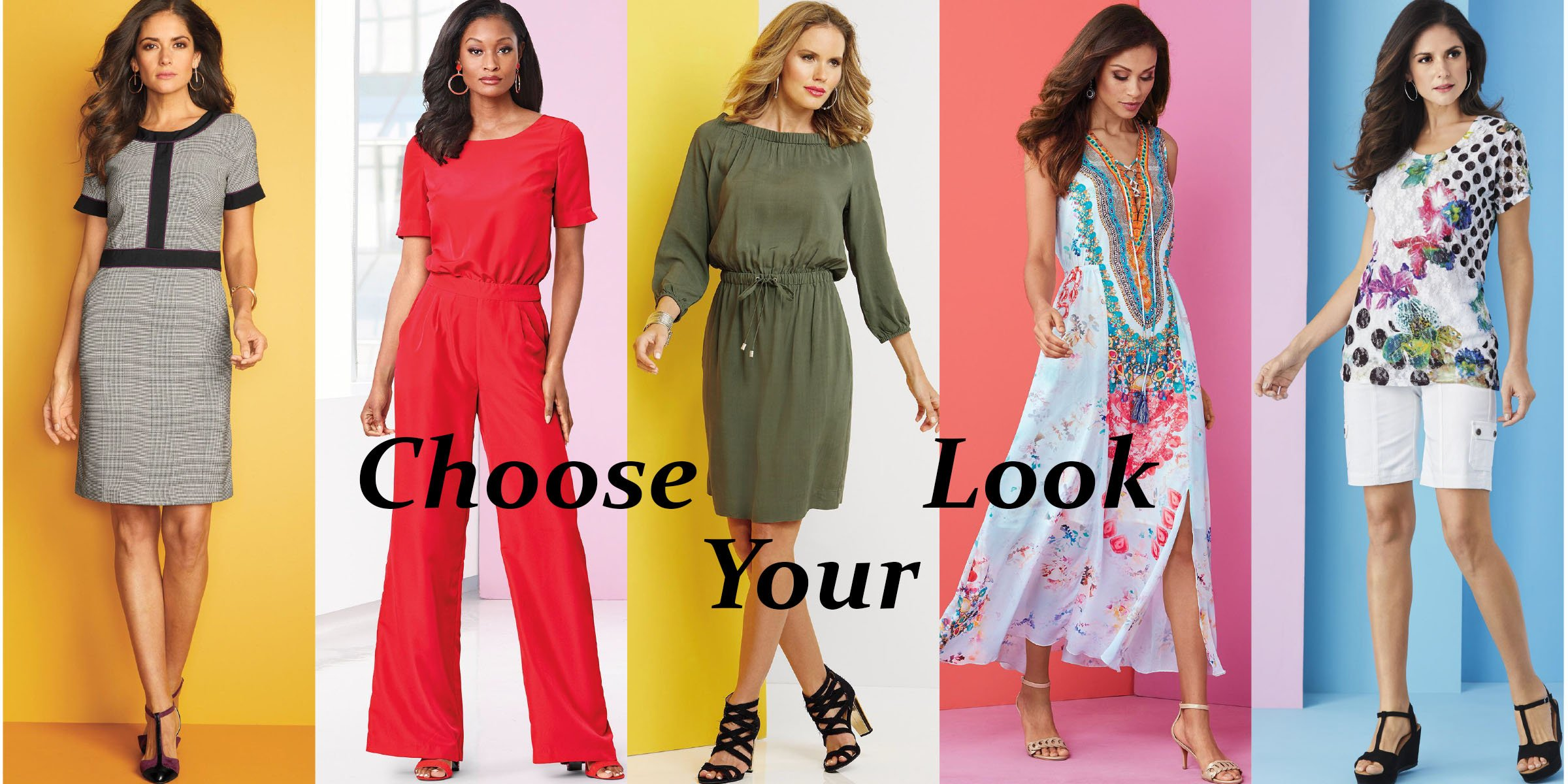 Choose Your Look On Metrostyle