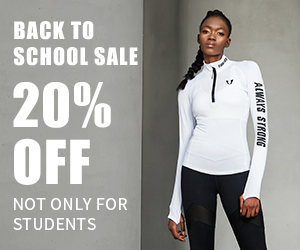 Buy 4 items save 20% during Back To School