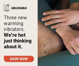 Introducing Warming Vibrators Massagers by Lora DiCarlo.