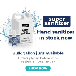 Shop Super Sanitizer Today!