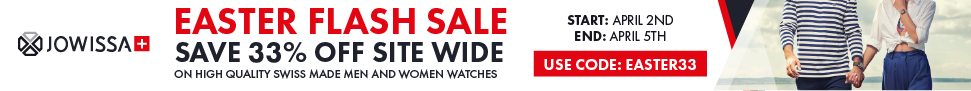 Jowissa.com Save 33% OFF Site Wide during Easter. Use Code: EASTER33