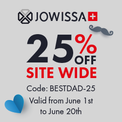 Jowissa Father's Day Offer: Save 25% OFF Site Wide