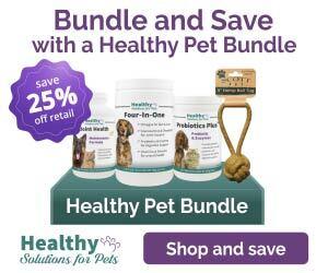 Healthy Pet Bundle Save 25% off retail
