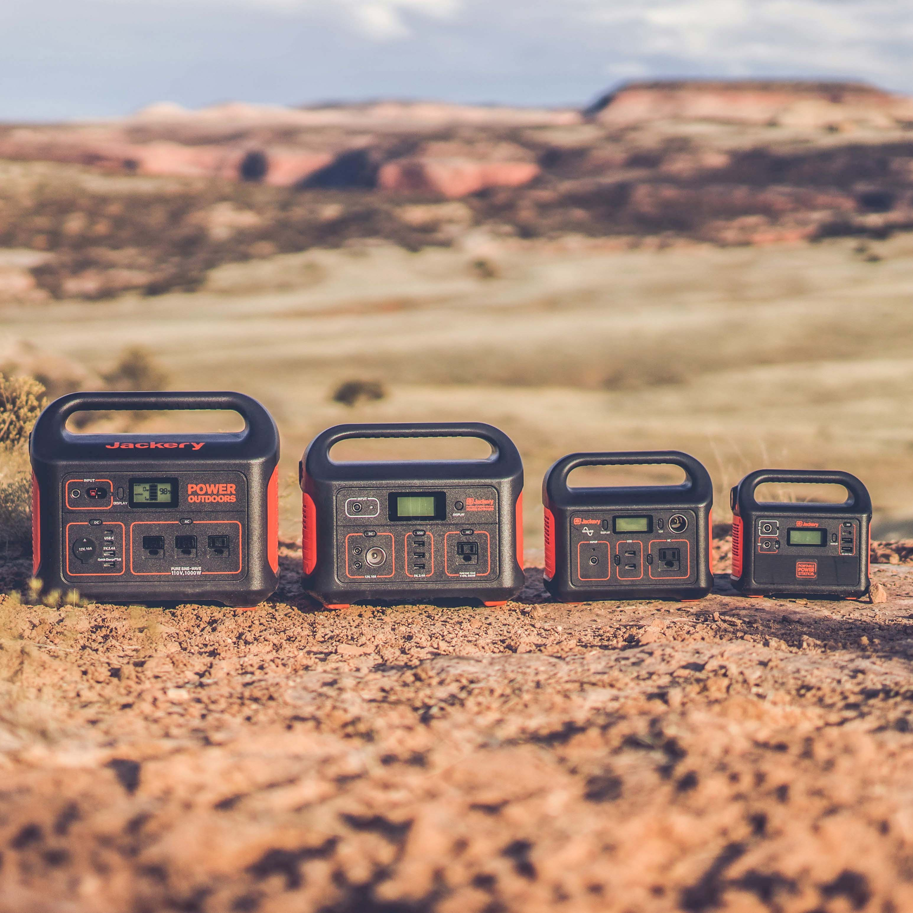 Portable Power Stations to charge and explore.
