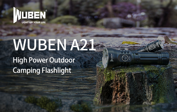WUBEN A21 High power flashlight