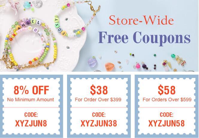 Get $38 Free Coupon On Xyzbeads.com