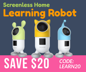 Roybi Robot Screenless Learning