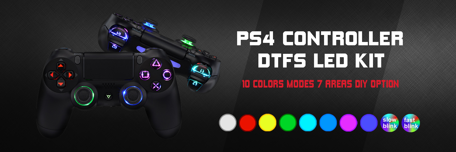 gamingcobra.com - Build an ultimate RGB PS4 controller – Get 10% off orders over $29.99