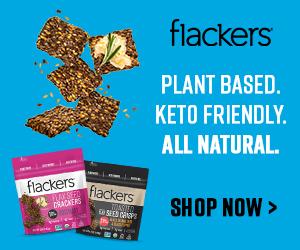 Flackers - Plant Based. Keto Friendly. All Natural.
