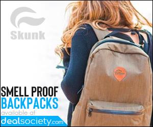 Skunk Smellproof Backpacks - Save Big at DealSociety!