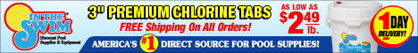 Stock up on chlorine at InTheSwim.com!