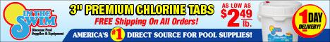 Stock up on chlorine at InTheSwim.com!