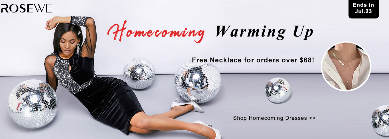 Homecoming Warming Up!Free necklace for orders over $68!