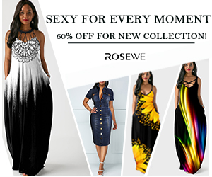 Sexy for every moment,60% off for new collection!