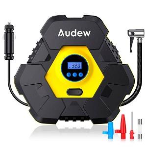 Audew12V150PSITriangleTireInflatorwith1 01 - 15% Off Audew Portable Air Compressor