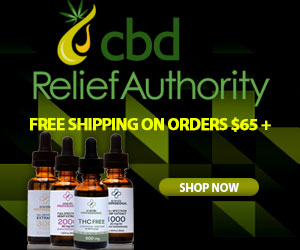 Free Shipping CBD Relief Authority Oil