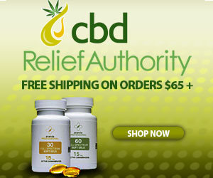 Free Shipping CBD Relief Authority