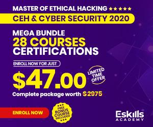 Cyber Security Courses Bundle 28 Courses - 300 x 250