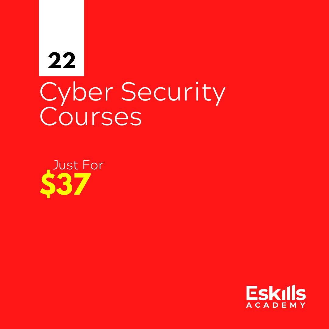 Cyber Security Courses Bundle 22 Courses