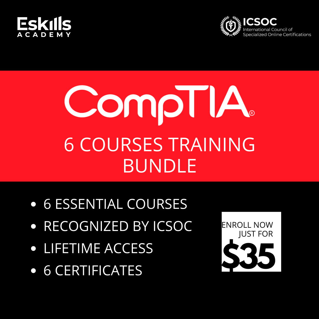 CompTIA 6 Courses Bundle
